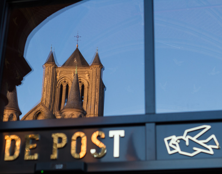 De Post. Ghent, Belgium.