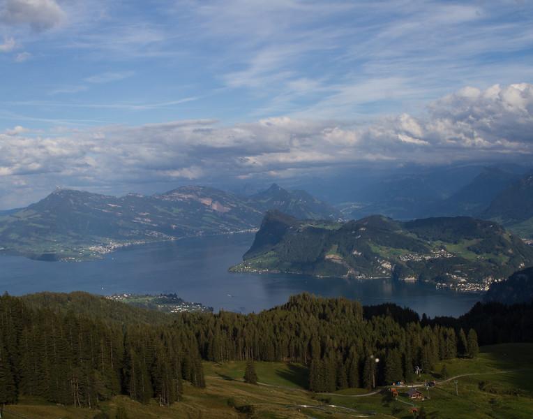 Lake Lucerne. Switzerland.