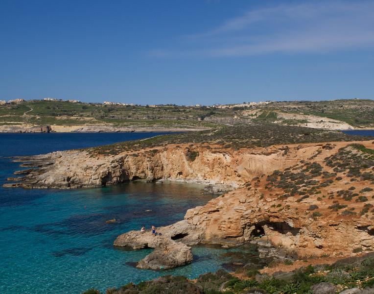 Blue Lagoon. Malta.