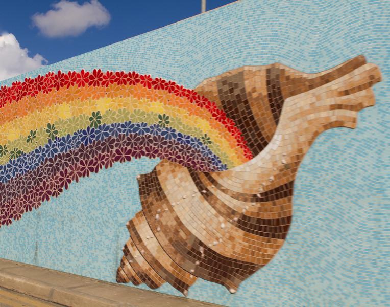 Rainbow Mosaic. Malta.