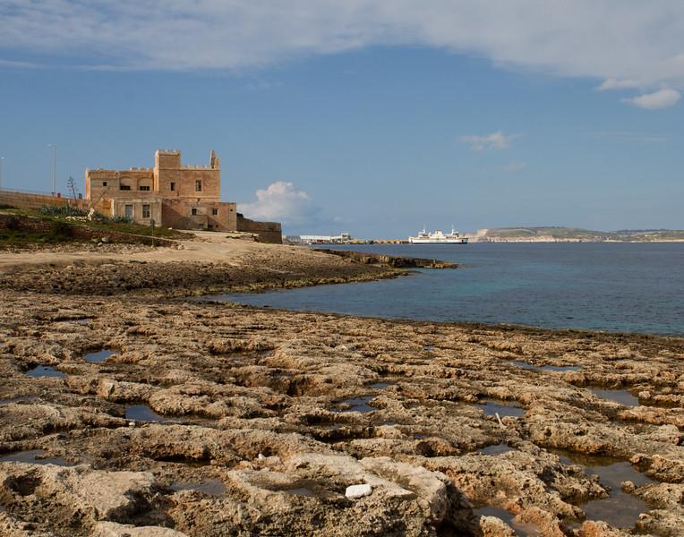 Salt Formations. Malta.