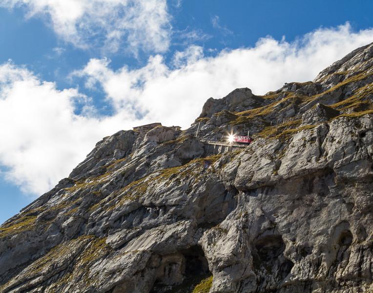 Trolley Sunburst. Switzerland.