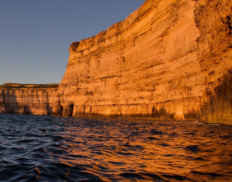Cave Reflections. Malta.