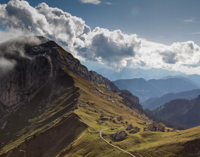 Majestic Alps. Switzerland.