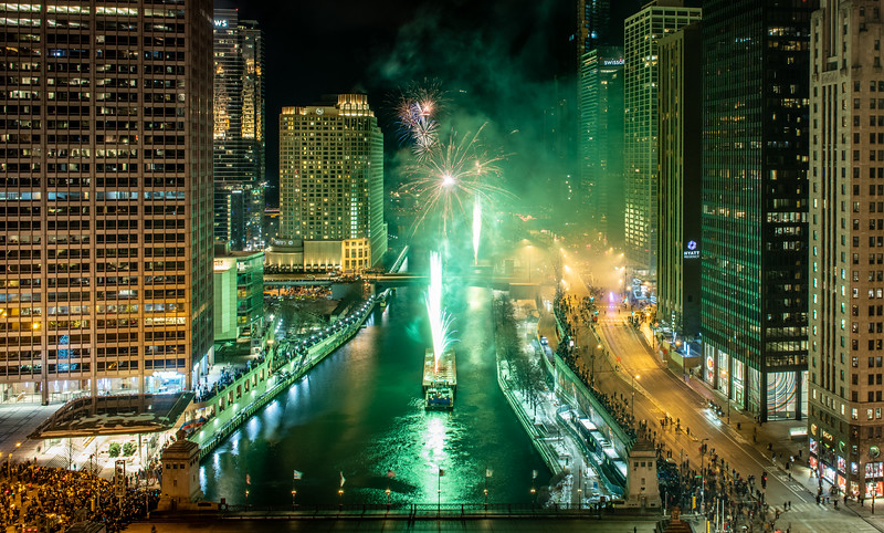 Fireworks: The green version
