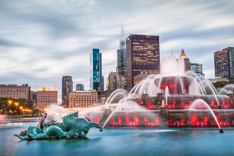 Stillwater Seahorse at Buckingham Fountain
