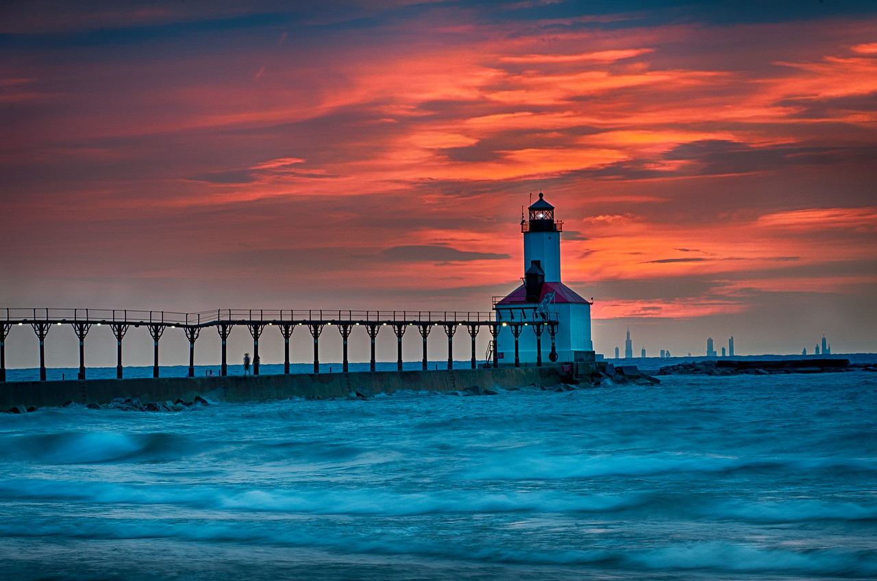 After Sunset - Michigan City