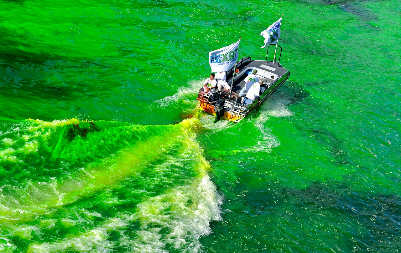 Turning the River Green - Mixing it Up