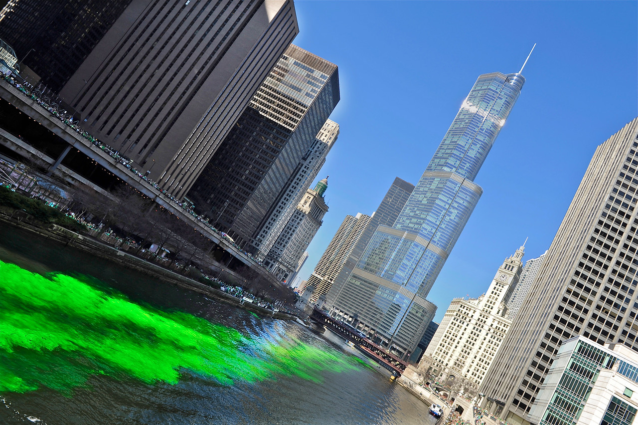 Turning the River Green - Heading to Trump
