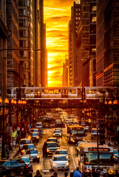 Chicago Henge 2016 - On Fire
