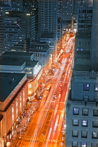 Mag Mile's Glow from Above (Santa's View)