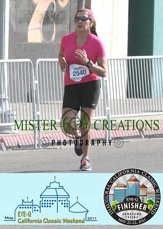 Finish ~ Fulton & Inyo ~ Half Marathon