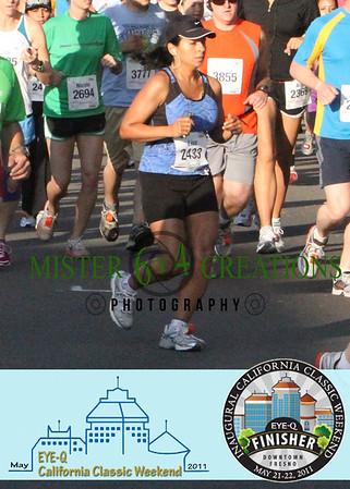 Start ~ Inyo & P Street ~ Half Marathon