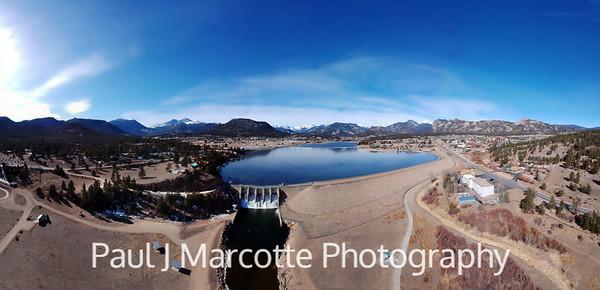 Icy grip loosens on lake Estes