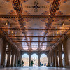 Bethesda Plaza in Central Park, interior walkway.
