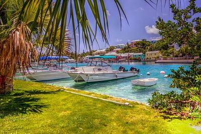 Flatts Village  Inlet, Bermuda.