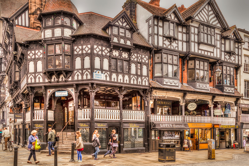 My Hometown and Birthplace, Chester, Cheshire UK.