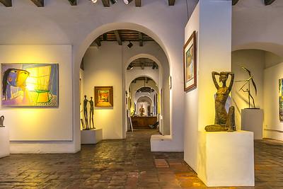 Art Gallery, San Juan, Puerto Rico.