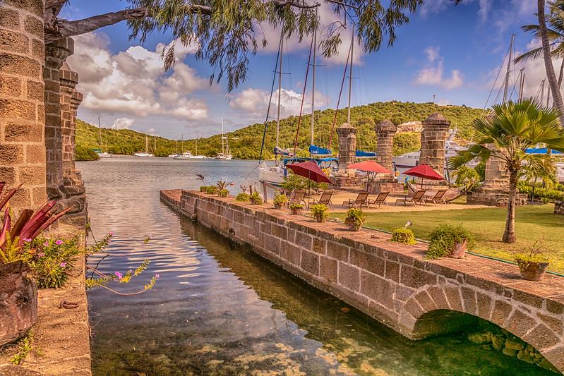 Lord Nelson's Dockyards, Antigua.
