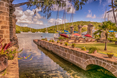 Lord Nelson's Dockyards, Antigua.