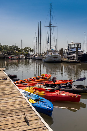 Boats at Rest, South Carolina 2016.