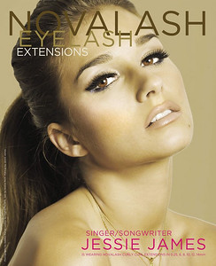 Jesse James is the new spokesperson for Novalash Eyelash Extensions!
