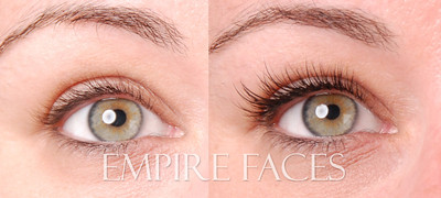 Novalash extensions by Lara Toman, Advanced LashTechnician at Empire Faces.