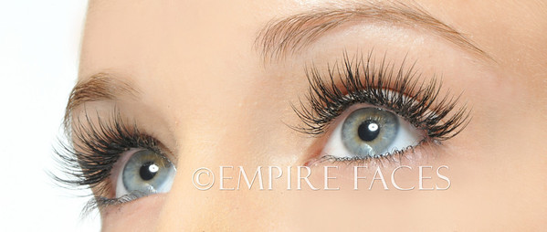 Eyelash Extensions by Lara Toman of Empire Faces, Advanced Certified Lash Technician & Trainer.©Empire Faces