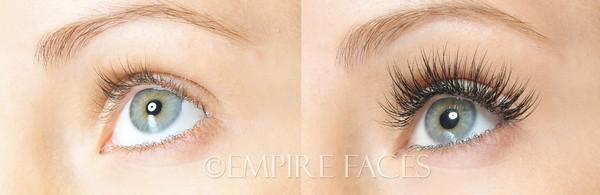 Novalash Extensions by Lara Toman, of Empire Faces, Advanced Certified Lash Technician & Trainer. ©Empire Faces
