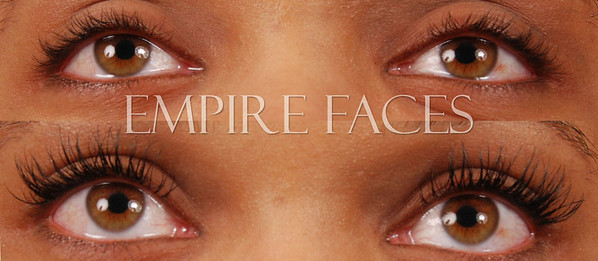 Novalash Extensions by Lara Toman, of Empire Faces, Advanced Certified Lash Technician & Trainer. ©Empire Faces