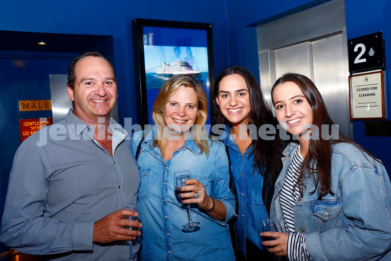From left: Andrew, Lisa, Lauren and Kate Breckler.