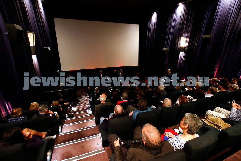"""20-2-17. Melbourne premier of  """"Eyeless In Gaza"""" at the Classic Cinema. Photo: Peter Haskin"""