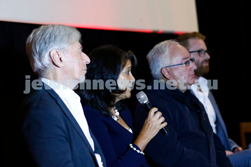 "20-2-17. Melbourne premier of  ""Eyeless In Gaza"" at the Classic Cinema. Photo: Peter Haskin"
