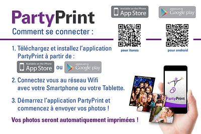 Party Print Mode opératoire