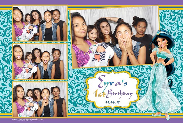 Eyra's 1st Birthday (Stand Up Photo Booth)