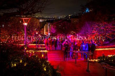Luminons du 8 décembre à la Croix Rousse