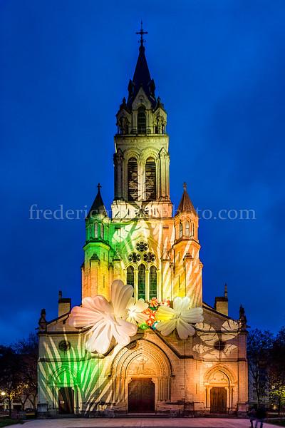 Eglise St-Blandine in colours