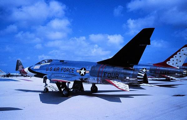 Thunderbirds F-100D FOUR