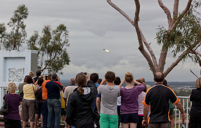 """F-111 final """"Dump and Burn"""" over the RAAF base at Ipswich, QLD. 3/12/2010"""