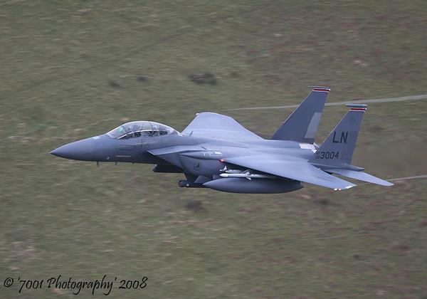 00-3004/'LN' (494 FS marks) F-15E - 17th December 2008.