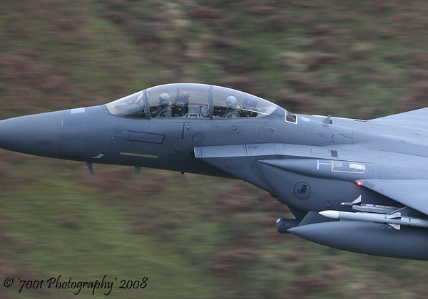 00-3004/'LN' (494 FS marks) F-15E - 17th December 2008.