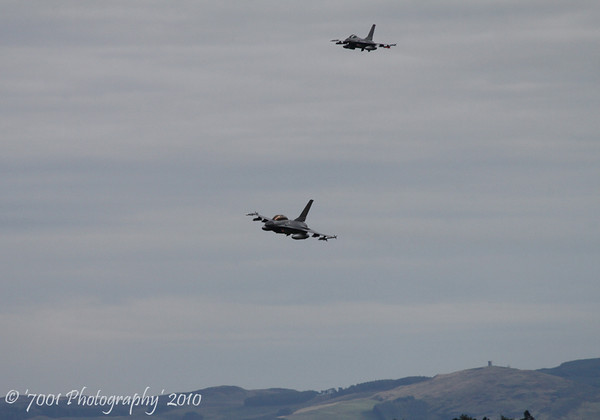 ET-615 F-16B & E-610 F-16A - 14th October 2010.