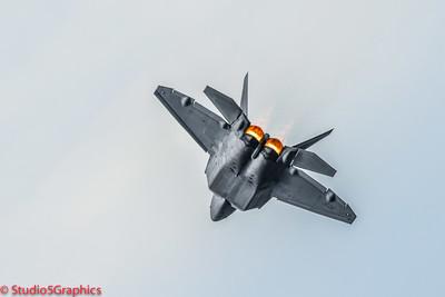 F-22 at Seafair Air Show August 2015