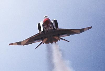 F-4 straight on
