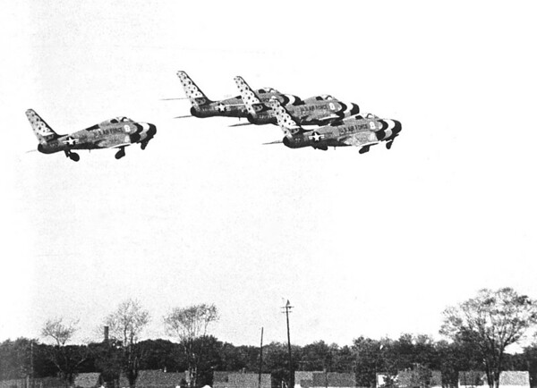 F-84Fs
