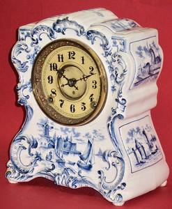 F. Kroeber China No. 16 Mantel Clock