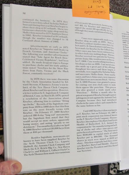 """Kroeber Clocks"", p. 32"
