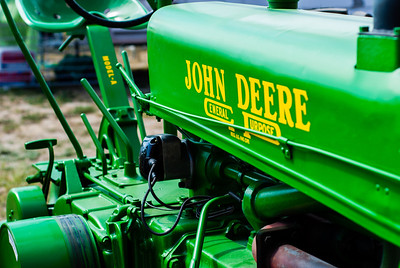 September 6, 2012 [Josh] A tractor at the State Fair on Sunday.