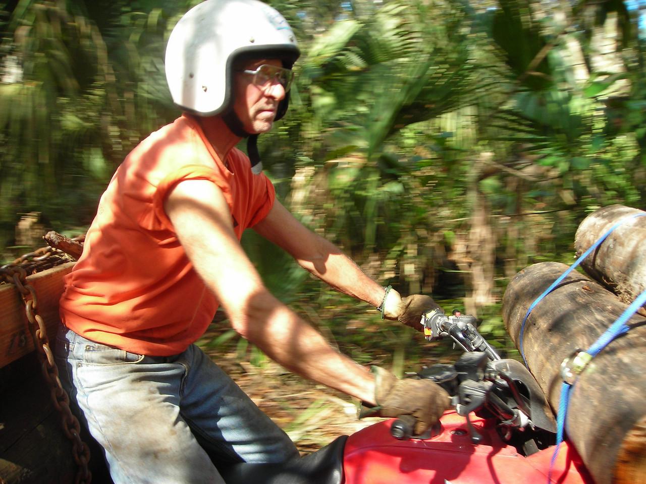 Butch on ATV