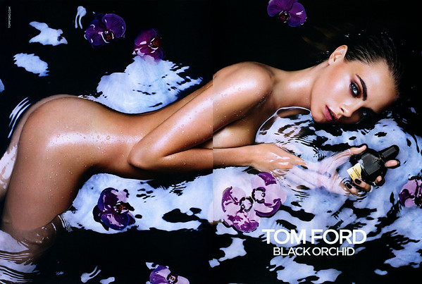 TOM FORD Black Orchid 2015 Italy  spread 'The fragrance for women from Tom Ford'